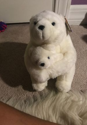 Toy plushie polar bear for Sale in Joliet, IL