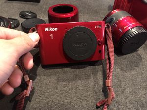 Nikon 1 J1 MP HD digital camera system with 10-30mm VR and 30-110mm for Sale in San Leandro, CA