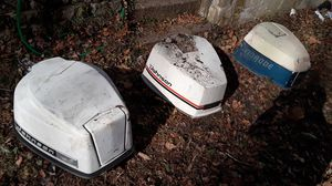 Johnson and evinrude cowls for Sale in Lisbon, CT