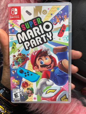 Nintendo Switch Game - Super Mario Party for Sale in Hyattsville, MD