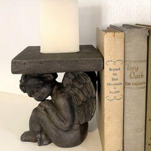 Cherub/Angel Pedestal, Book End, Candle Holder for Sale in Monroe, WA