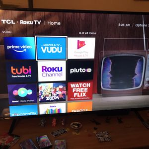 TCL 55 Inch 4K HDR Roku Tv for Sale in Seattle, WA