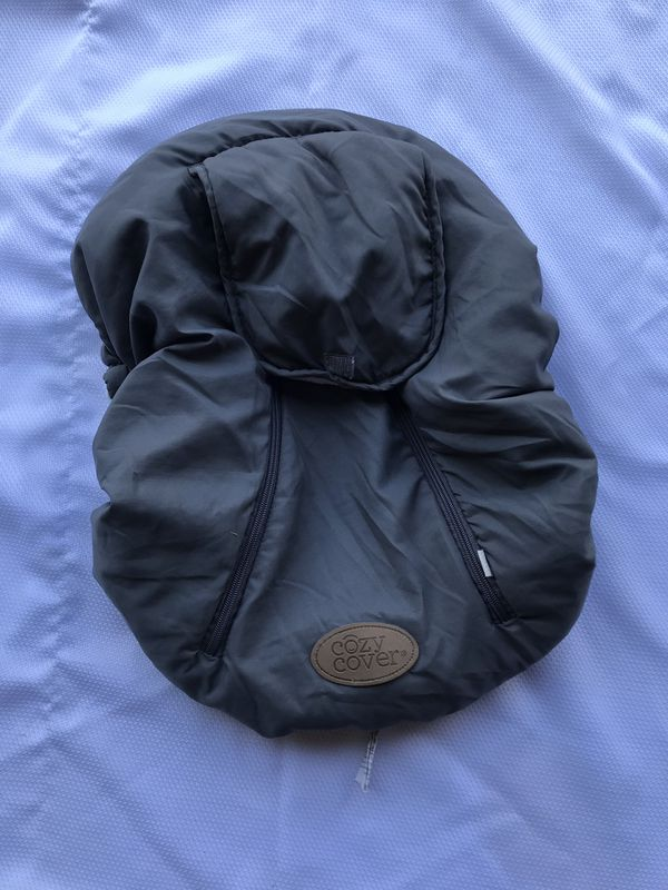 Cozy cover for car seat