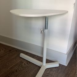 White Laptop adjustable side table for Sale in San Diego,  CA
