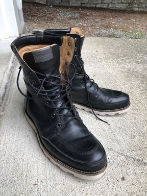 """Triumph """"Stoke"""" Leather Motorcycle Boots for Sale in Bellevue, WA"""