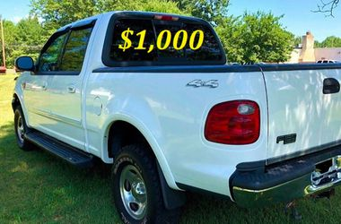 🟢💲1,OOO I'm selling URGENT this Beautiful💚2OO2 Ford F15O nice Family truck XLT Everything is working great! Runs great and fun to drive💪🟢c for Sale in Fort Worth,  TX