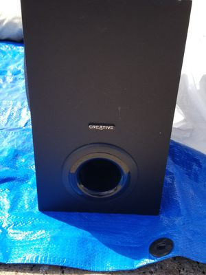 Creative Subwoofer for Sale in Dallas, TX