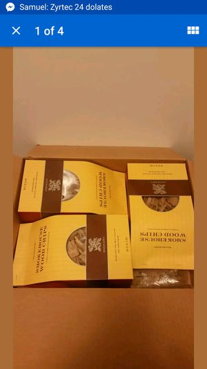 Wood chips hickory 3 boxes NEW grilling for Sale for sale  Brooklyn, NY