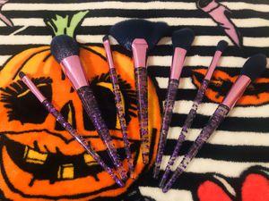 Purple makeup brushes for Sale in Denver, CO