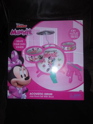 Minnie mouse drums for Sale in Bloomington, CA