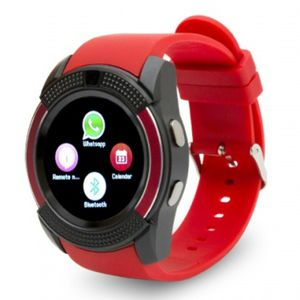 ♡♡BRAND NEW RED WATERPROOF SMARTWATCH BLUETOOTH OR SIMCARD FACTORY UNLOCKED CAMERA PEDOMETER♡♡ for Sale in Baltimore, MD