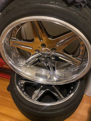 Work LS406 19inch Wheels for Sale in Shelton, CT
