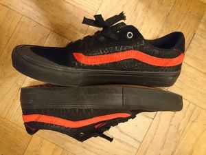 Vans baker 10.5 skate shoes for Sale in Seattle, WA