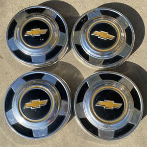 Chevy C10 Square Body Wheel Caps for Sale in Jurupa Valley, CA