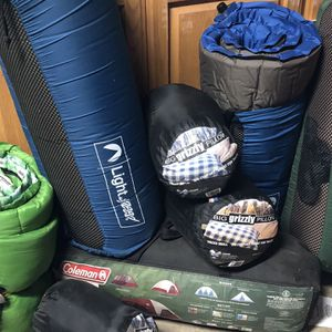 Camping Supplies, 4 Person Tent, mosquito Screened canopy, Self Inflating Twin Air Beds Etc for Sale in Damascus, OR