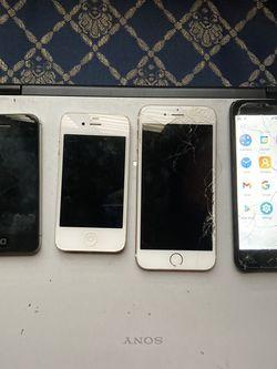 iPhone 5, 6, 4 Alcatel for Sale in Encinitas,  CA