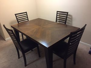 Dining table and 4 chairs for Sale in West Springfield, VA