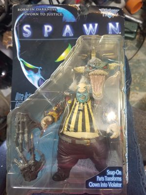 """spawn action figure """"clown"""" 1997 for Sale in Porter, TX"""