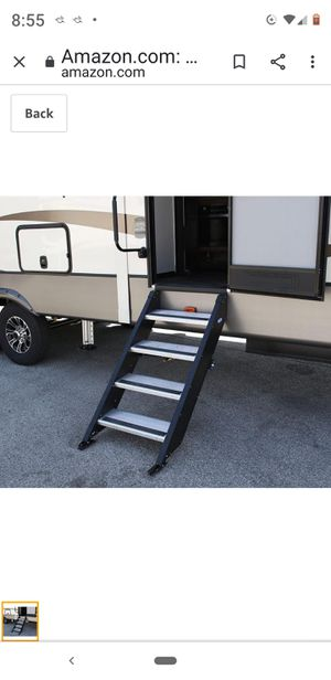 Travel Trailer STEP ABOVE 4 step fold out type for Sale in Snohomish, WA