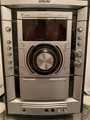 Sony MHC-GX9900 for Sale in Bradenton, FL
