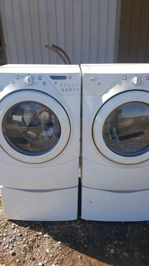 Whirlpool duet series washer dryer matched set for Sale in Taylor Landing, TX