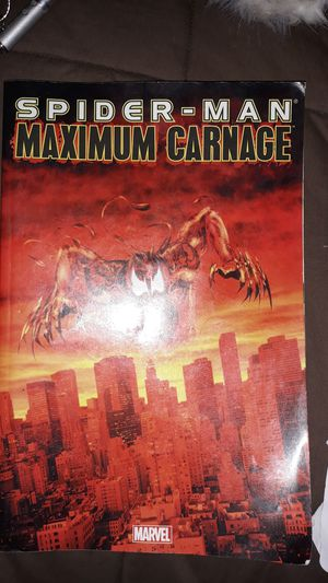 Marvel spider man maximum carnage comic book for Sale in Quincy, IL