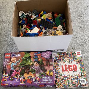 LEGO LEGOS Lot, LEGO Friends Advent Calendar & Book for Sale in Port St. Lucie, FL