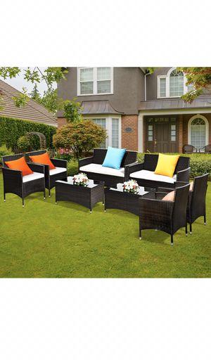 Outdoor furniture, patio furniture, 8pc patio set, outdoor patio furniture, SALE!! for Sale in Maricopa, AZ