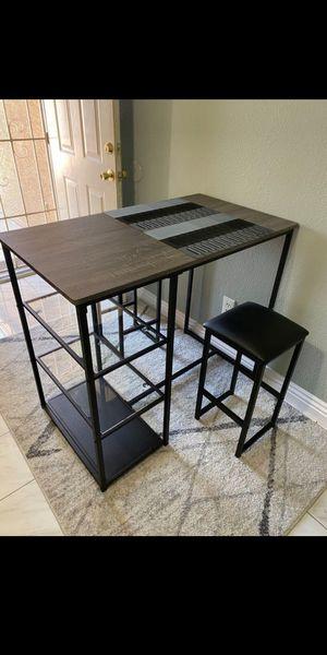 breakfast bar table/3 pc dining table set for Sale in Phoenix, AZ
