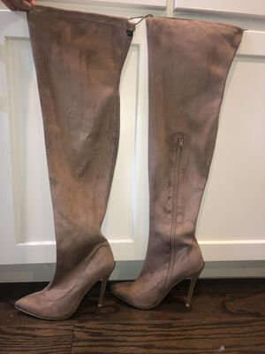 Suede thigh-high boots for Sale in Salem, OR