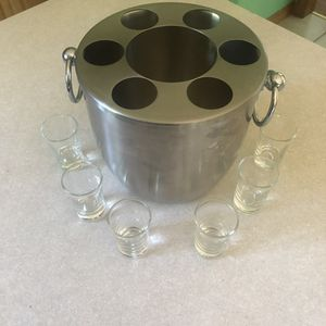 OGGI Ice bucket and shot set for Sale in Cheshire, CT