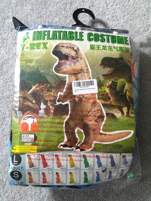 Inflatable BLUE T-Rex Costume for Kids for Sale in Clifton, NJ