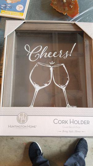 Cork holder frame for Sale in Ijamsville, MD