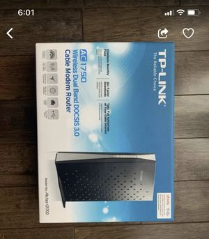 TP-LinK wi-Fi Cable Modem Router | for Sale in Sugar Land, TX