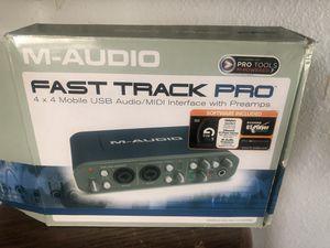 Fast track pro USB audio for Sale in Delhi, CA