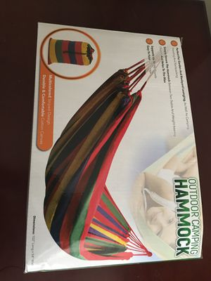 Outdoor Camping Hammock for Sale in San Diego, CA