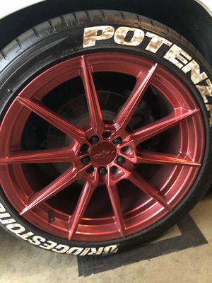 XXR 527 18x9.5 5x100/114 +38 for Sale in Montclair, CA