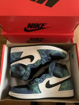 Air Jordan 1 Tie Dye 5.5, 8, 9, 10, 11 (Women's) = 4, 6.5, 7.5, 8.5, 9.5 Mens for Sale in West Hollywood, CA
