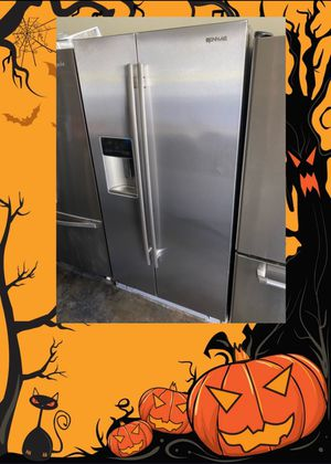 JENN-AIR STAINLESS COUNTER DEPTH SIDE BY SIDE FRIDGE for Sale in Santa Ana, CA