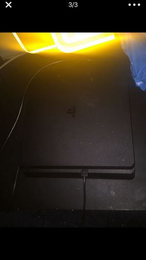 PS4 slim for sale (with all cords) and controller for Sale in Washington, DC