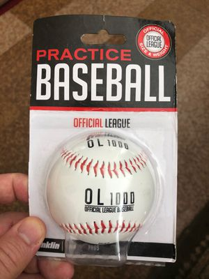Franklin Sports MLB Official League Synthetic Cover Practice Baseball for Sale in Brooklyn, NY