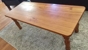 Coffee table - solid pine for Sale in Covina, CA