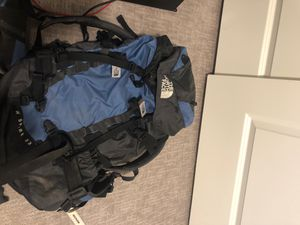 The North Face hiking backpack. for Sale in Tolleson, AZ