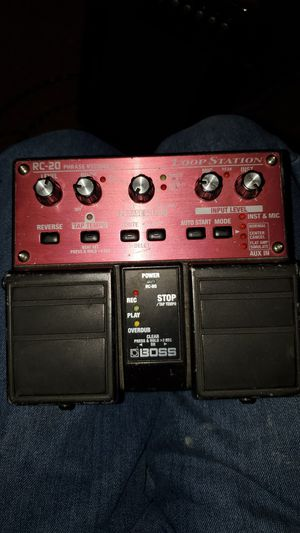 Boss RC-20 Loop Station pedal for Sale in Las Vegas, NV