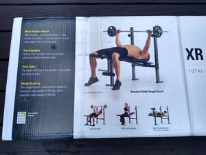 WEIDER XR 6.1 Weight Bench - BRAND NEW! for Sale in Pottsville, PA