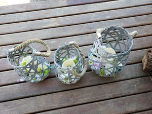Outdoor Garden LED Candle Lattern for Sale in Federal Way, WA