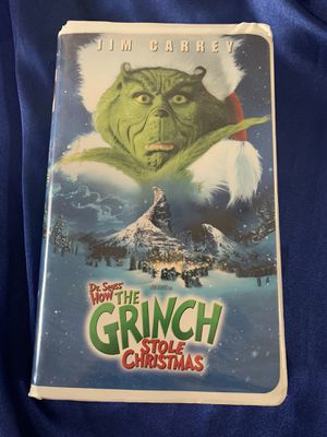 VHS tape How the Grinch Stole Christmas! for Sale in Hemet, CA