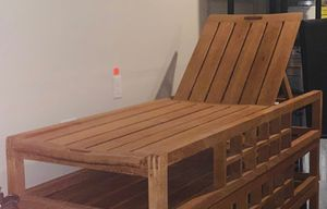 Solid teak wood pool/lounge chairs for Sale in Fort Lewis, WA