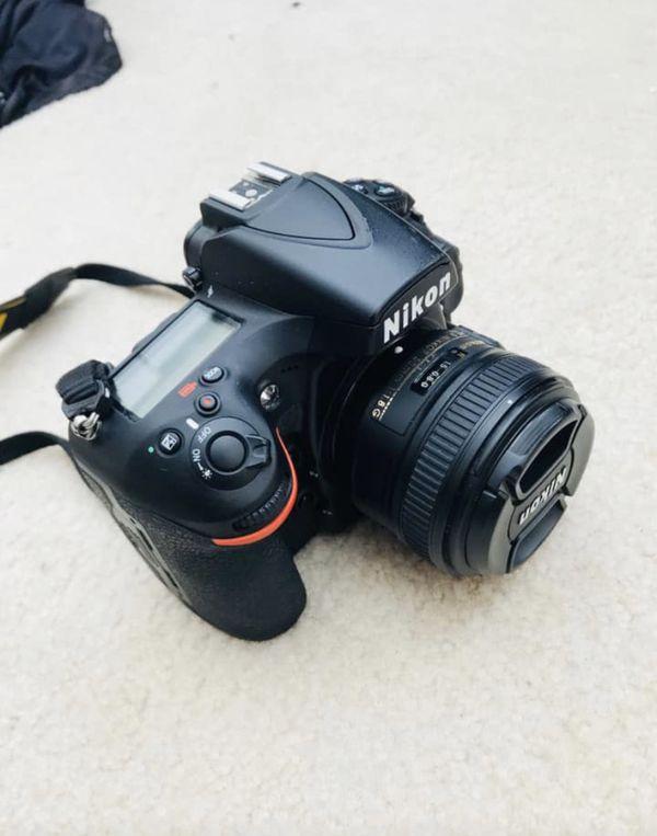 Nikon D810 with 50mm prime lens