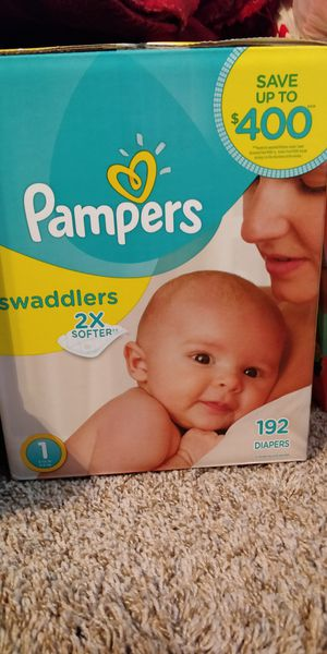 Pampers Diapers and wipes for Sale in Houston, TX